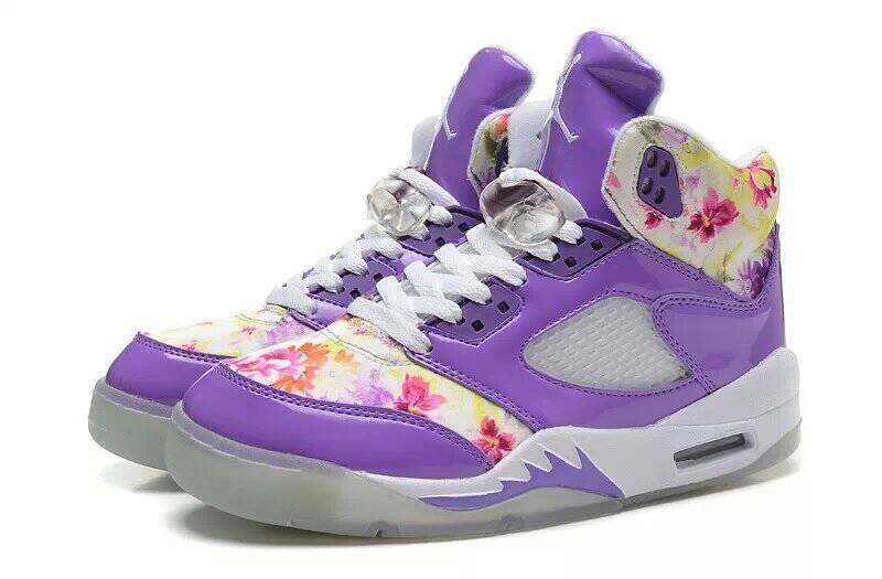 sports shoes ceea5 9a5a3 ... good air jordan 5 cherry blossom women purple white 03e4e 49c06