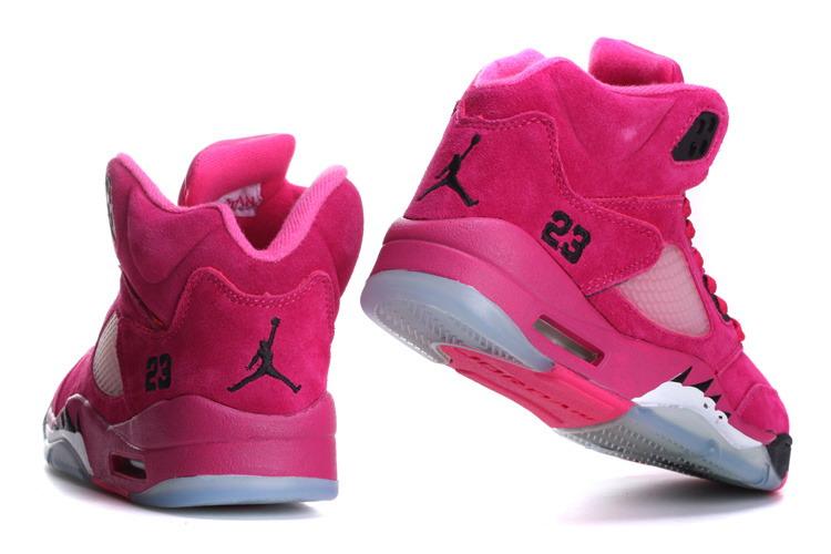 6d7c1d5701874b ... purchase air jordan 5 retro pink black cheap womens c85c5 c925f