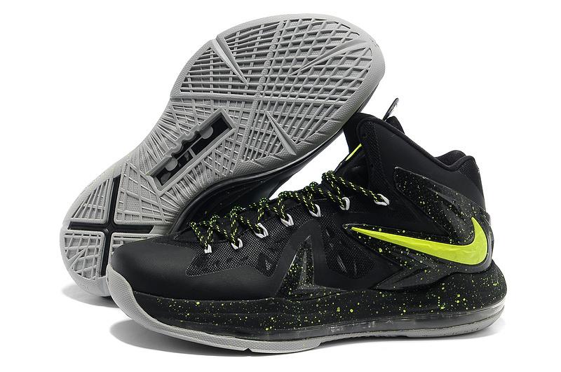 587efd61871d5 Cheap Nike Lebron 10 P.S Elite Green Black Grey - Cheap Lebron James ...