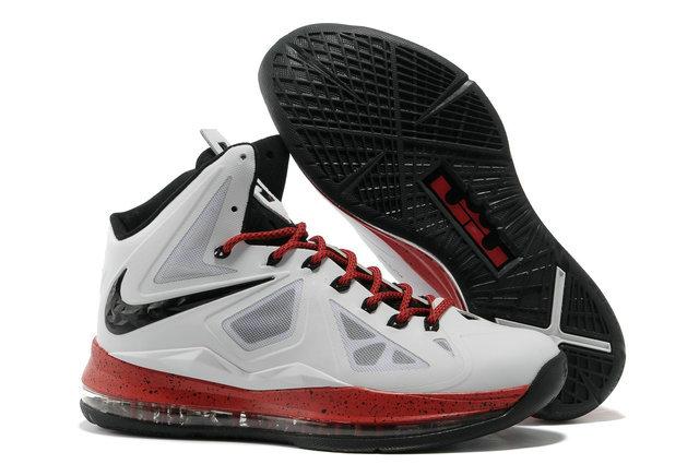 Nike Lebron X Heat Away XDR White Black Red - Cheap Lebron James ... 7e7592095fca6