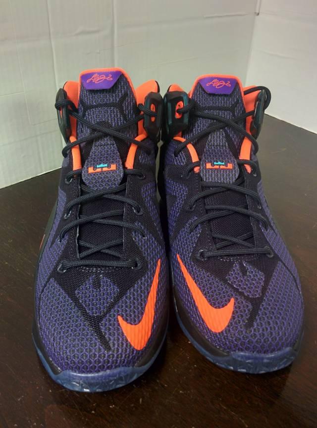 cheap for discount 85488 b72b5 ... czech nike lebrons xii 12 instinct eggplant galaxy sneakers 433da 5581c